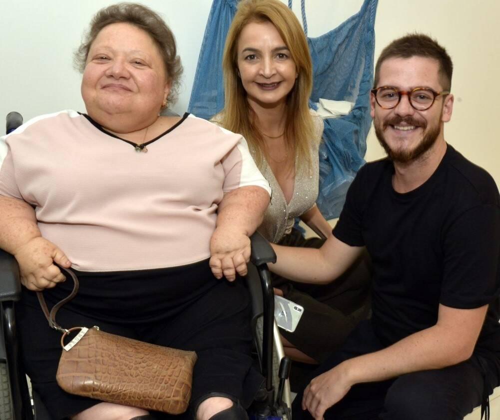 Isabela Portela, Simone Cadinelli  e Ulisses Carrilho  /Foto: Cristina Granato