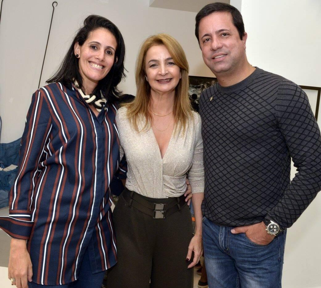 Patricia Toscano,  Simone Cadinelli e Eduardo Braule-Wanderley    /Foto: Cristina Granato