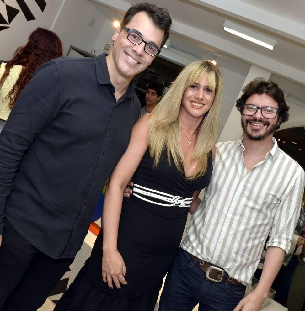 Claudio Lins, Suedi Martins e André Junqueira   /Foto: Cristina Granato
