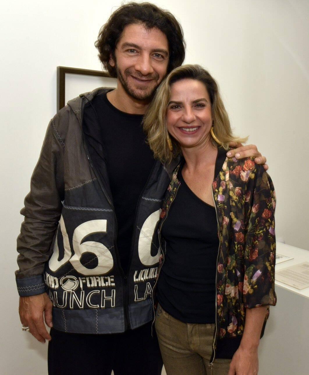 Fabio Szwarcwald e Fernanda Sattamini  /Foto: Cristina Granato