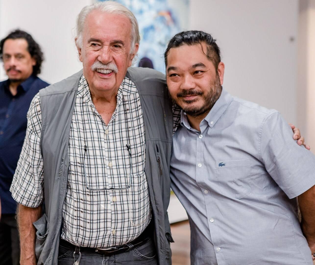 Carlos Vergara e Tinho  /Foto: Bruno Ryfer