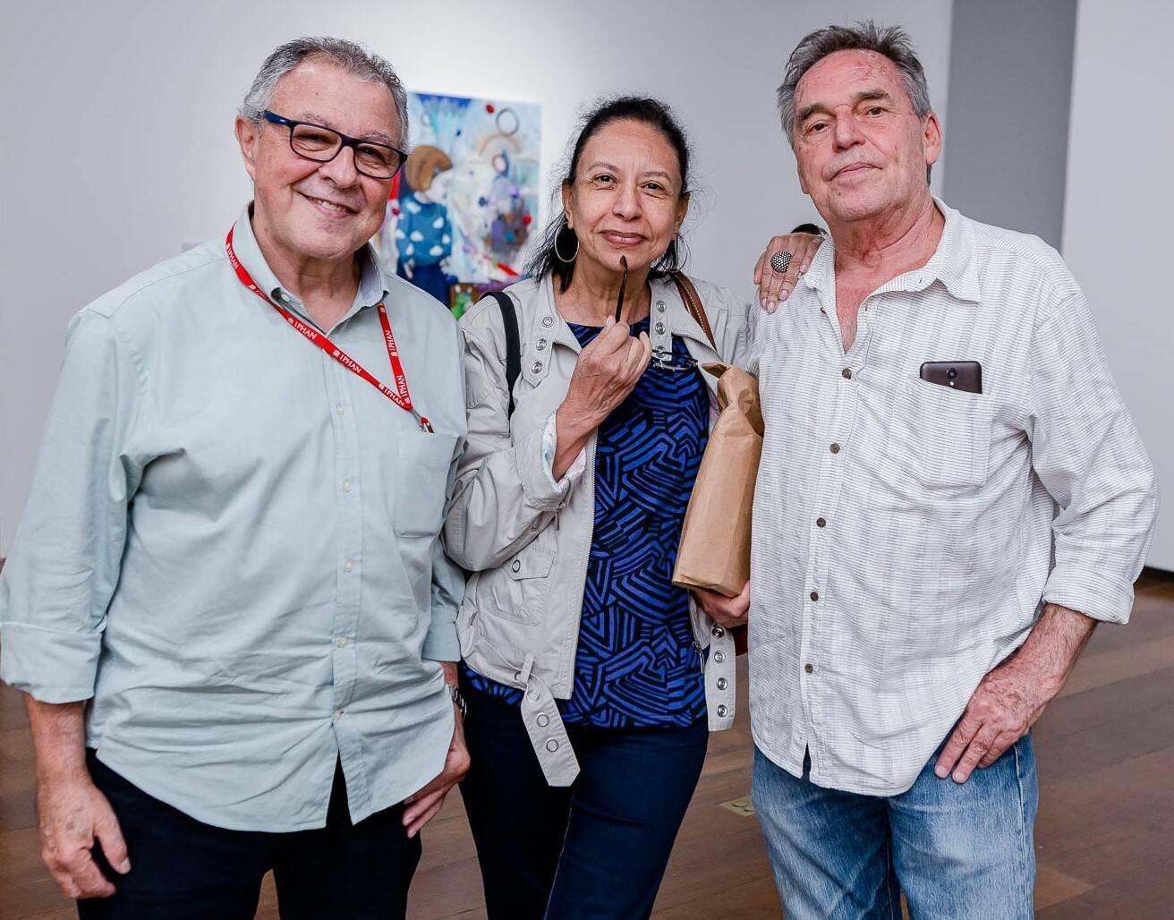 Altair Ribeiro, Marlene Custódio e Chico Chaves  /Foto: Bruno Ryfer