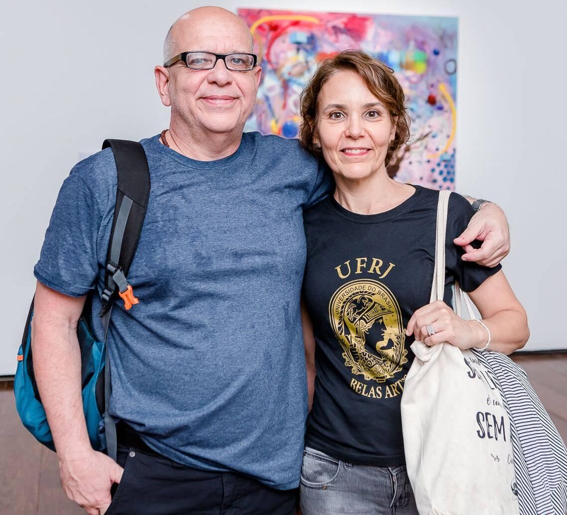 Nelson Ricardo Martins e Luciana Frazão /Foto: Bruno Ryfer