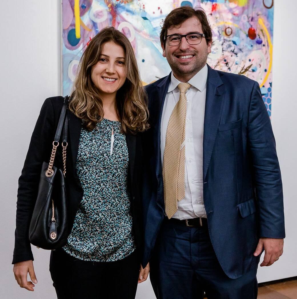 Gabrielle reis e Marcus Vinicius Reis /Foto: Bruno Ryfer
