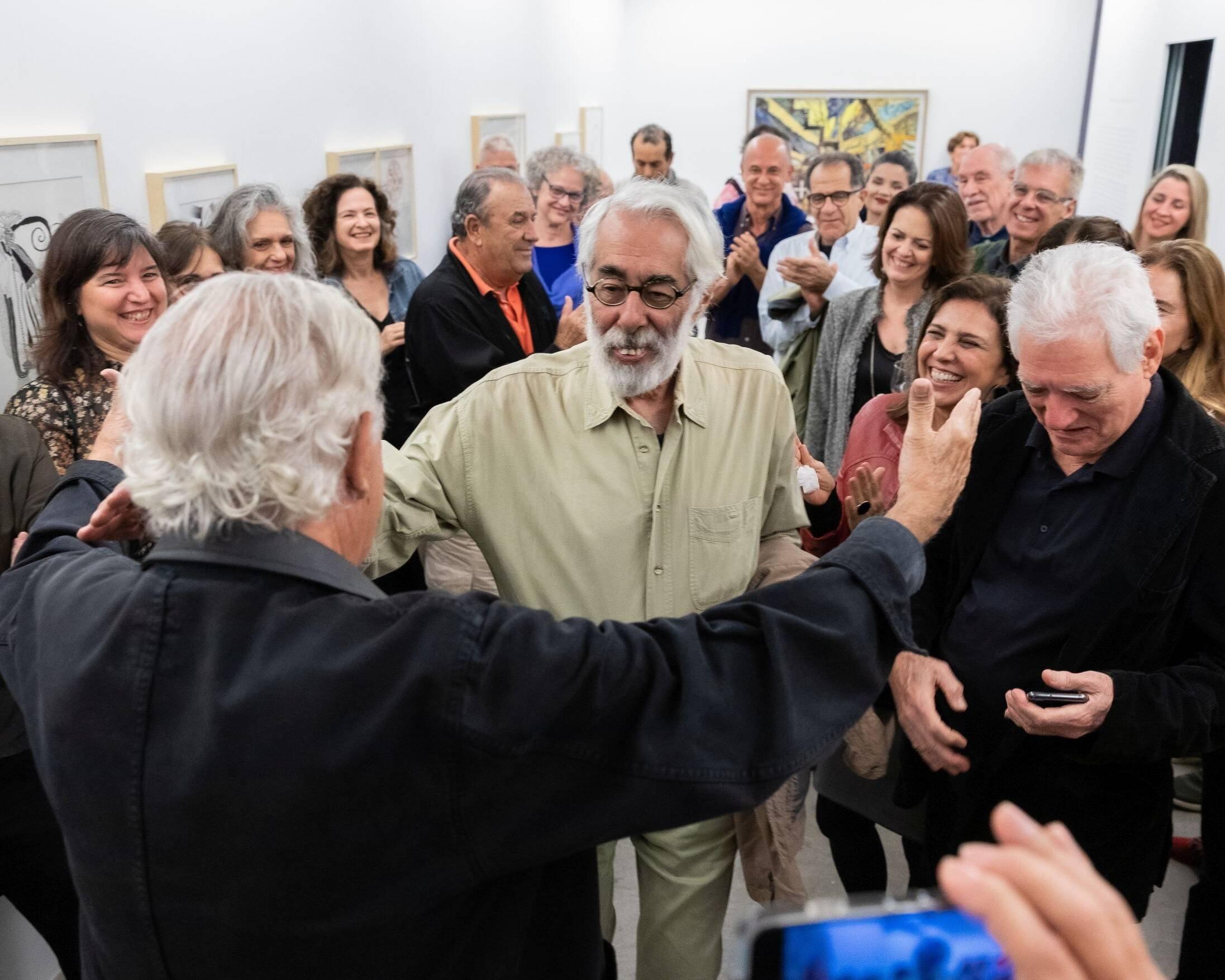 Carlos Vergara e Roberto Magalhães /Foto: Alan Miguel Gonçalves