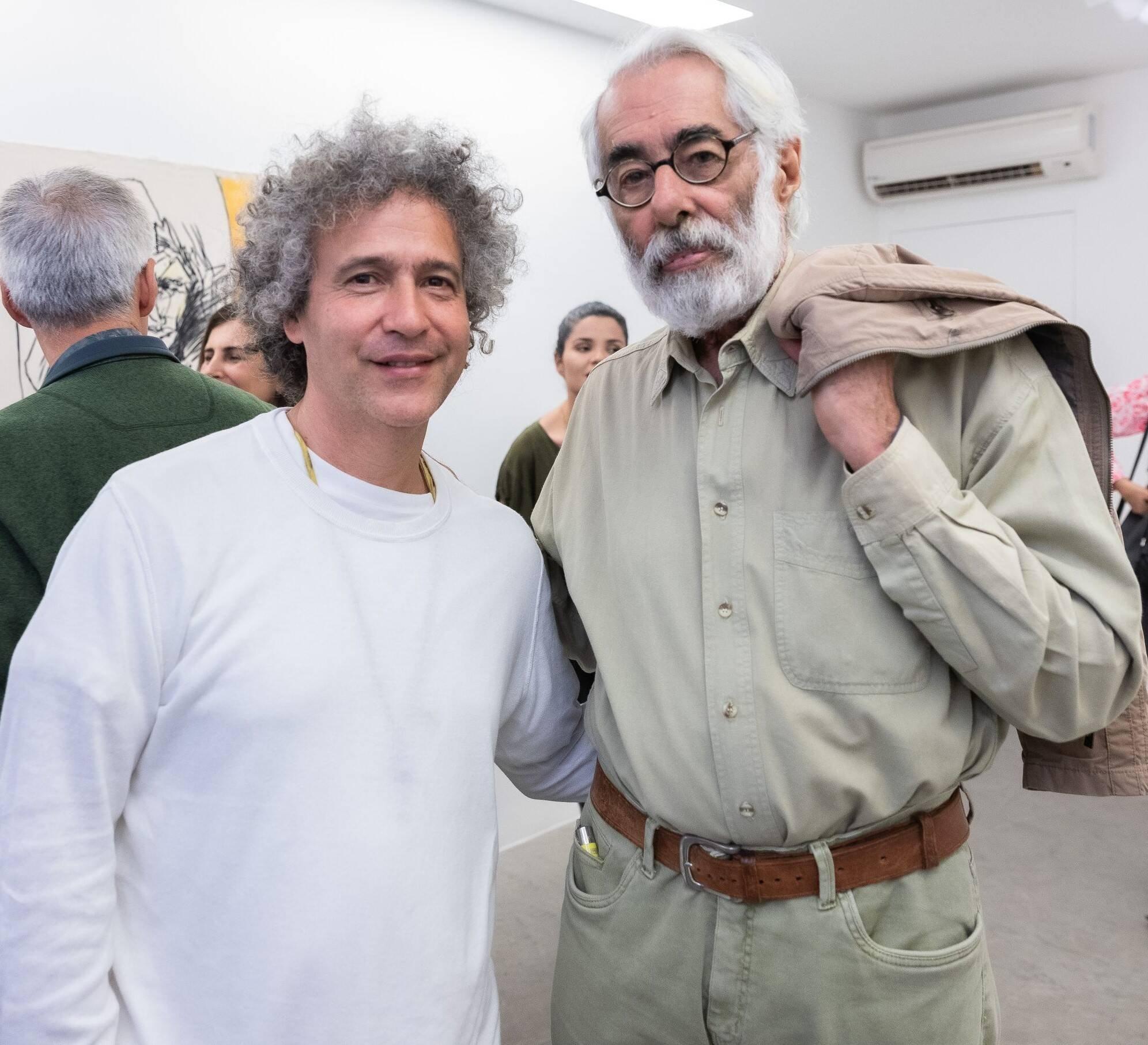 Ernesto Neto e Roberto Magalhães /Foto: Alan Miguel Gonçalves