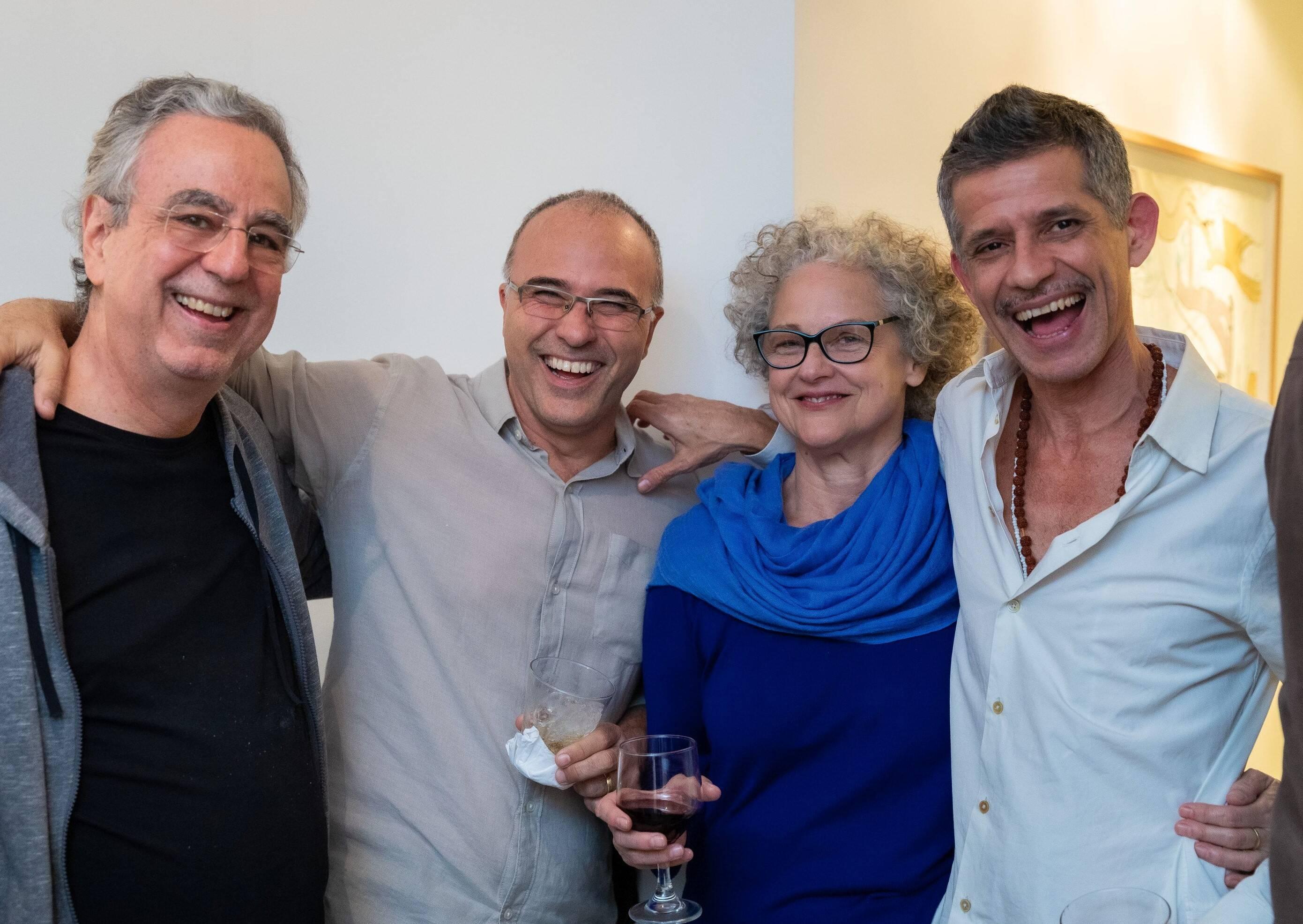 Murilo Salles, Alexandre Salgado, Daisy Xavier e Cabelo /Foto: Alan Miguel Gonçalves