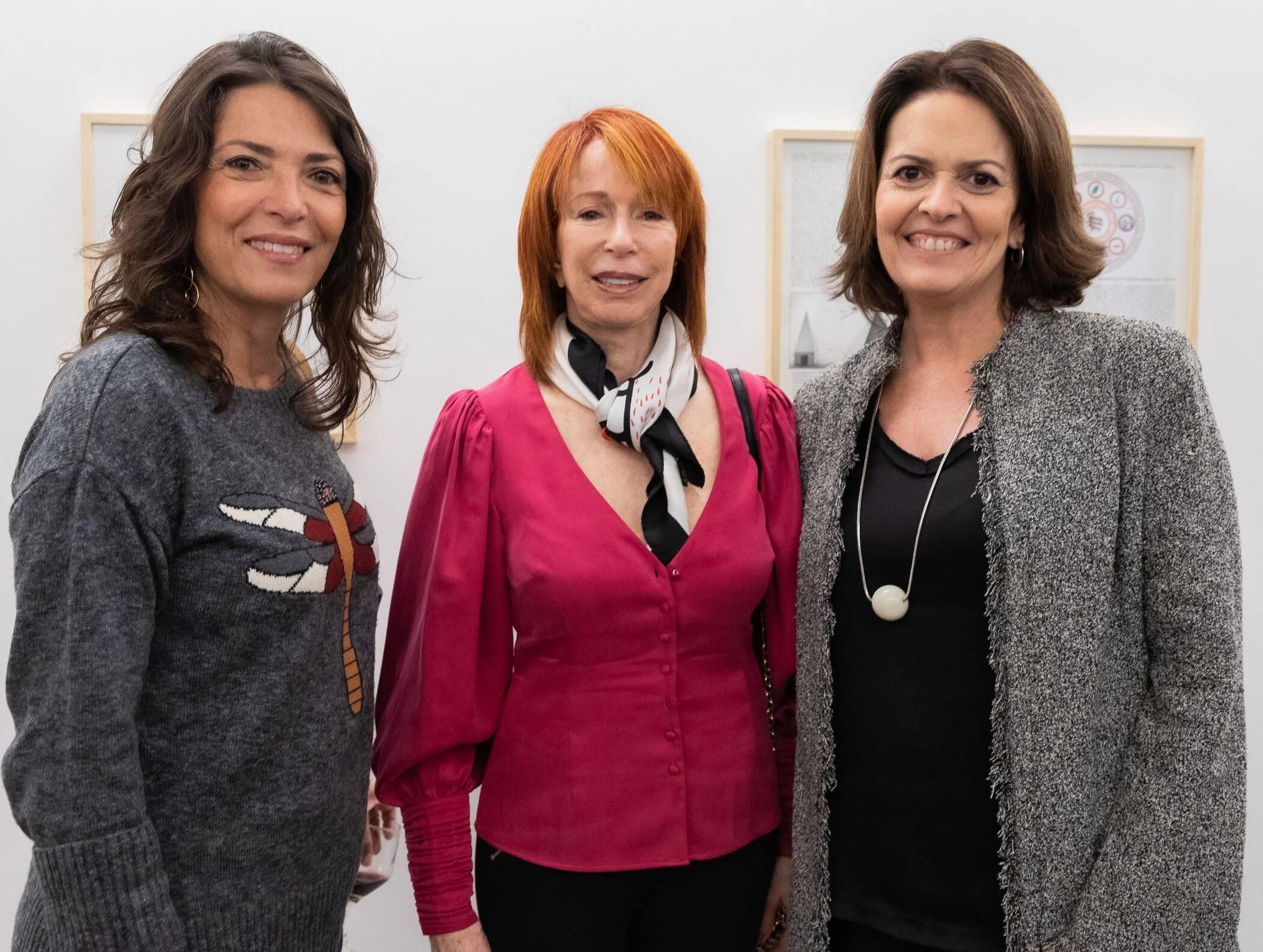 Simone Roriz, Ruth Chindler e Stella Ramos /Foto: Alan Miguel Gonçalves