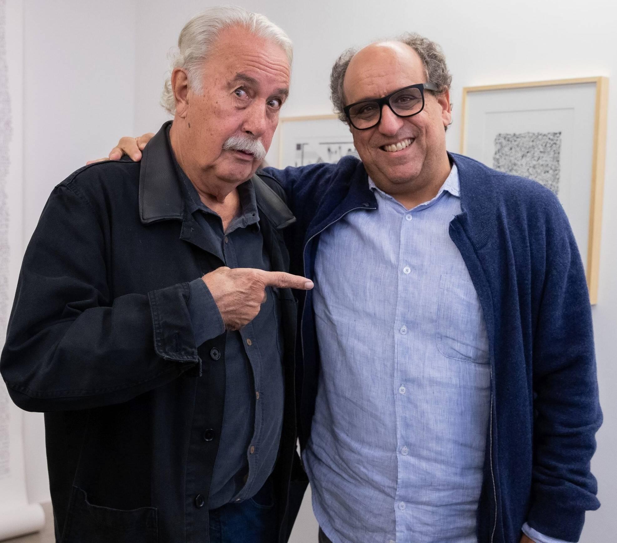 Carlos Vergara e Luíz Camilo Osório /Foto: Alan Miguel Gonçalves