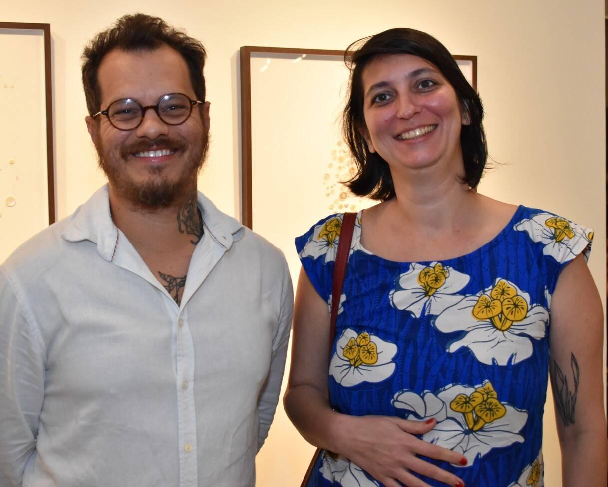 Jonas Arrabal e Yuli Anastassakis  /Foto: Cristina Lacerda