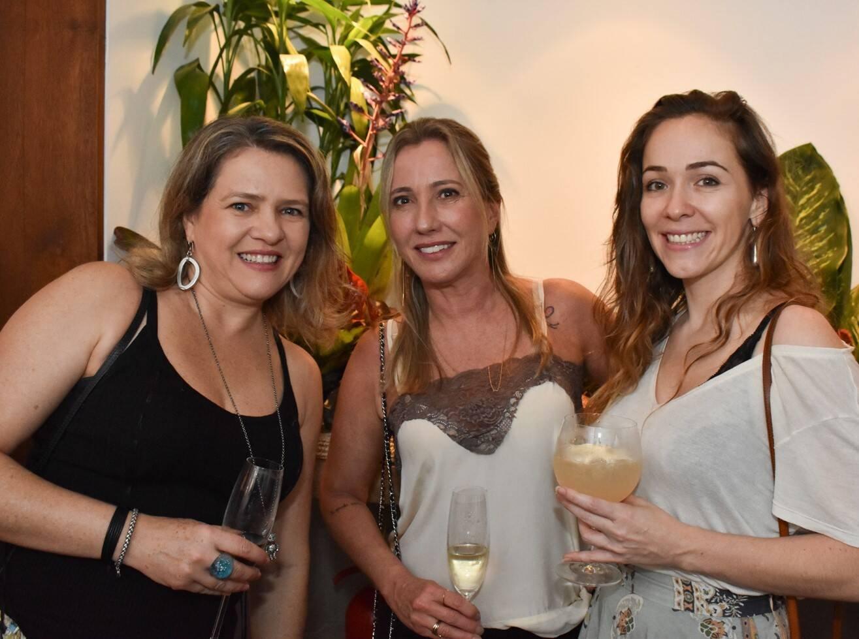 Marta Bueno,  Claudia Cantagalli e Mila Petry  /Foto: Cristina Lacerda