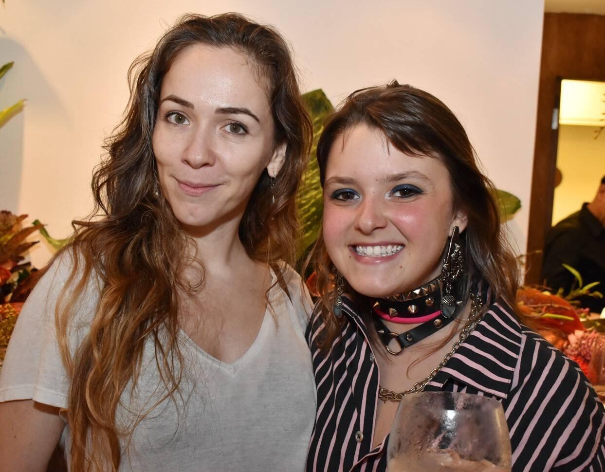 Mila Petry e Duda Freire  /Foto: Cristina Lacerda