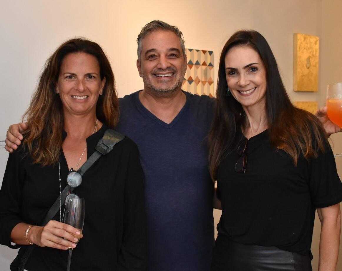 Tita Flexa, Ronaldo Simões e Carolina Olinto  /Foto: Cristina Lacerda