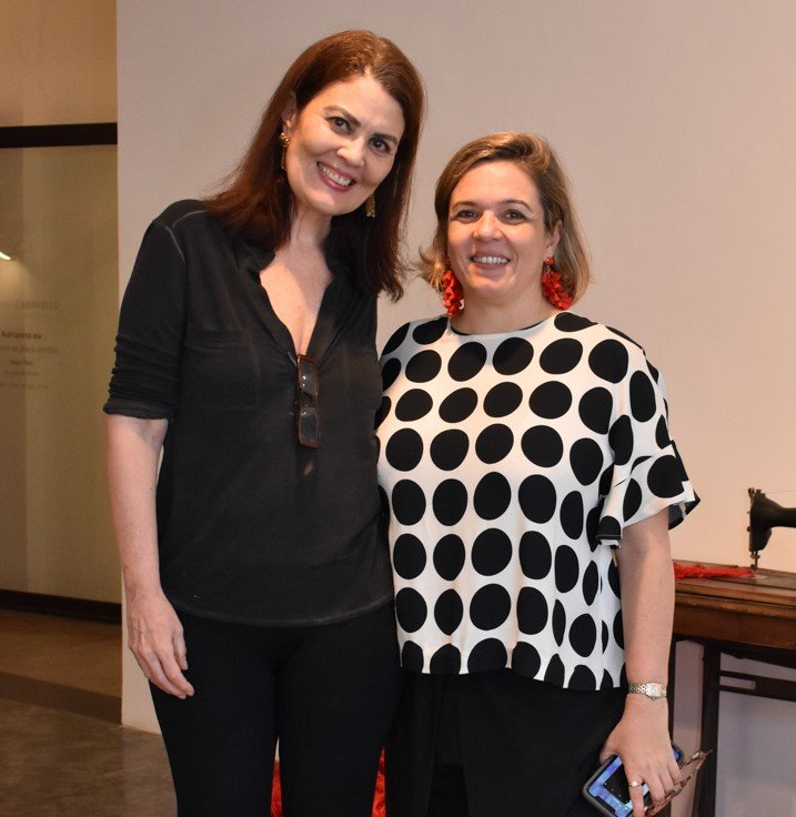 Tininha Machado e Luciana Caravello  /Foto: Cristina Lacerda