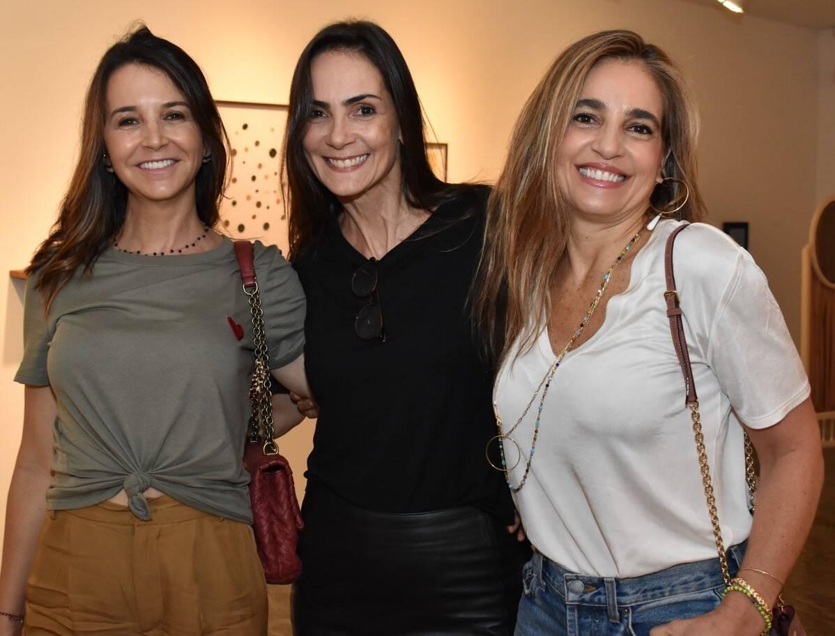 Adriana Witt, Carolina Olinto e Mariza Gross  /Foto: Cristina Lacerda