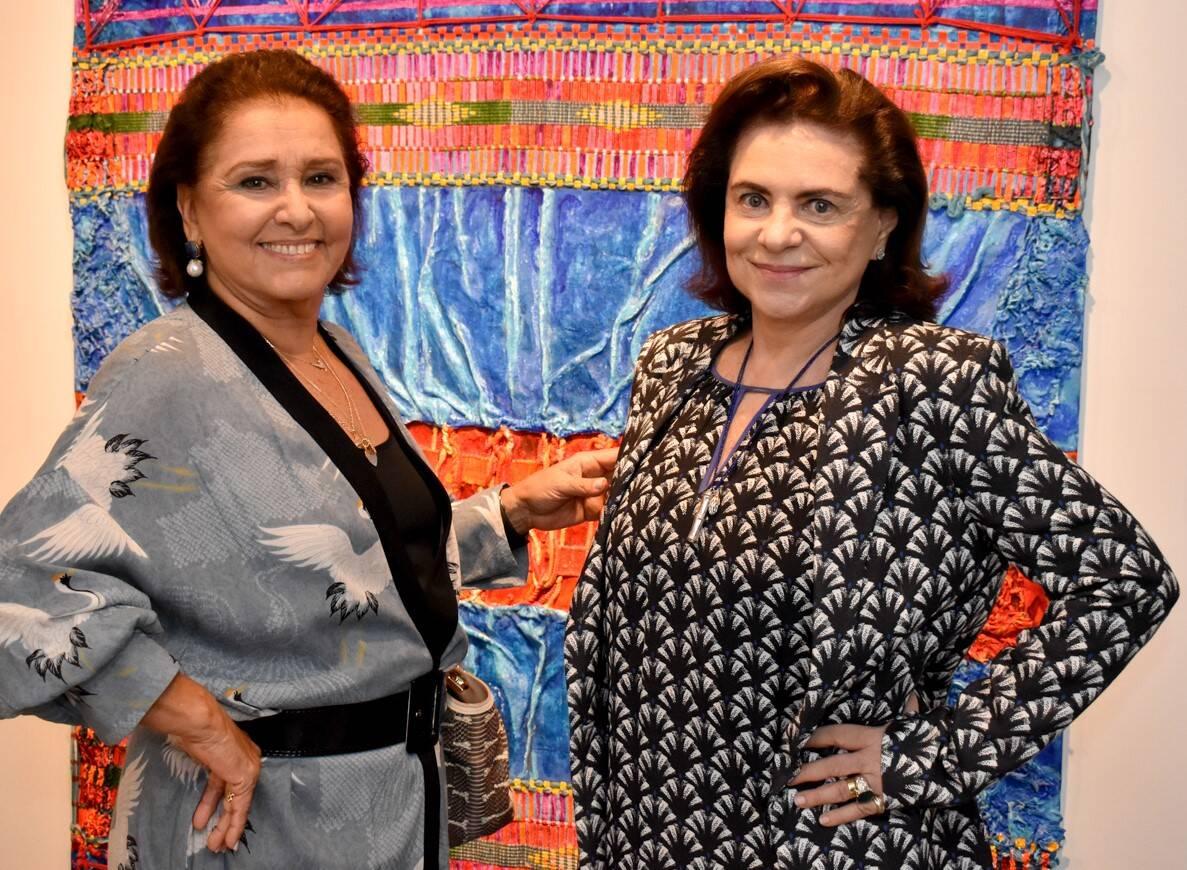 Elizabeth Pratini e Cristina Burlamaqui  /Foto: Cristina Lacerda
