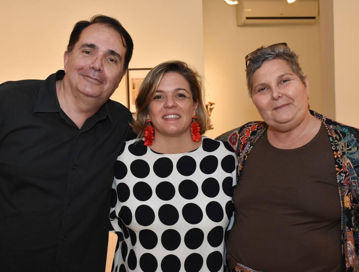 Fred Chinelli, Luciana Caravello e Alexia Archer  /Foto: Cristina Lacerda