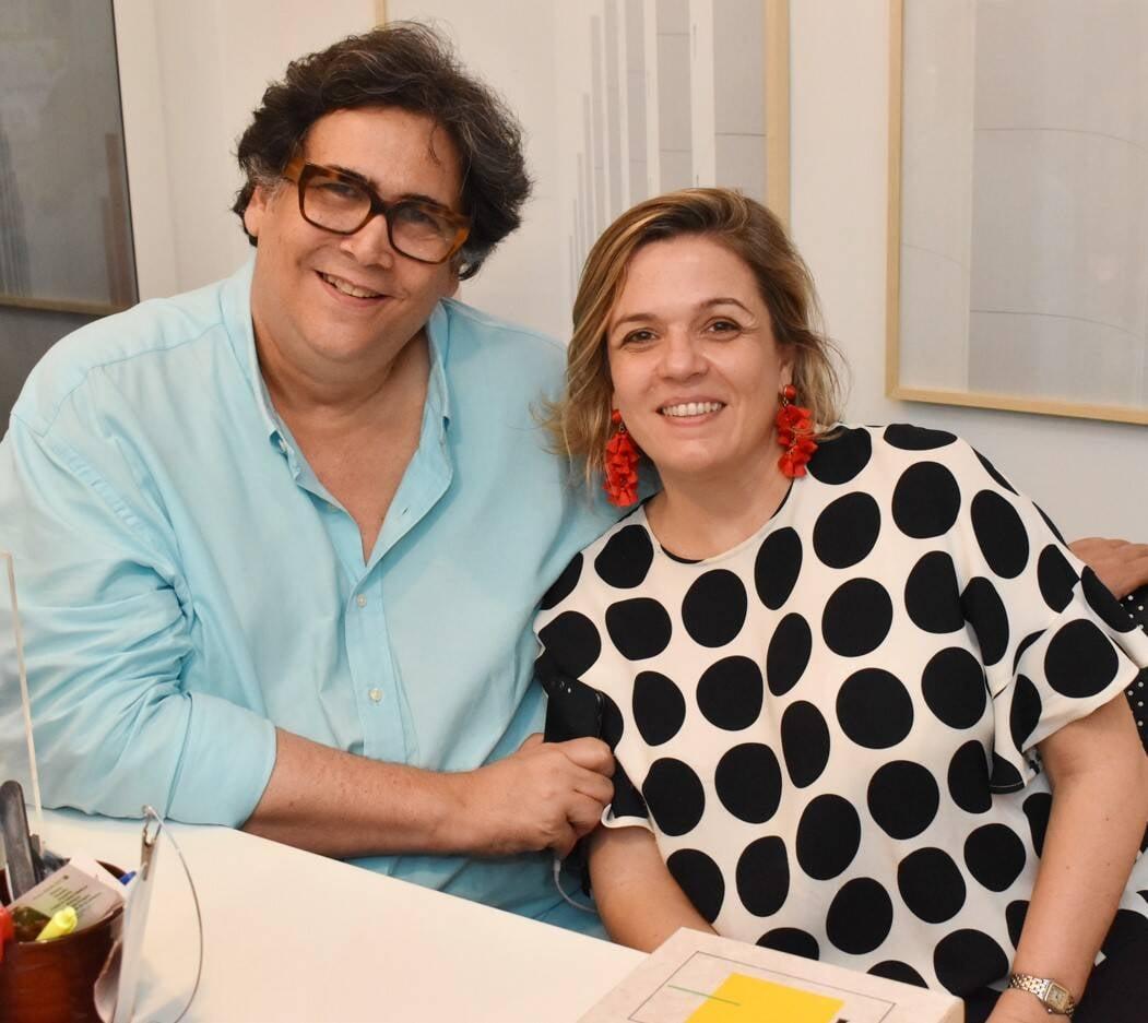 Antonio Neves da Rocha e Luciana Caravello /Foto: Cristina Lacerda