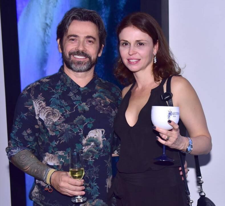 Alexandre e Natasha Mazza  /Foto: Paulo Jabur
