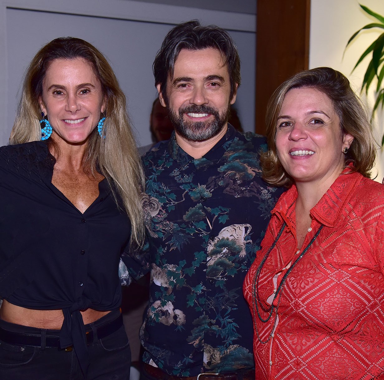 Priscila Szafir, Alexandre Mazza e Luciana Caravello  /Foto: Paulo Jabur
