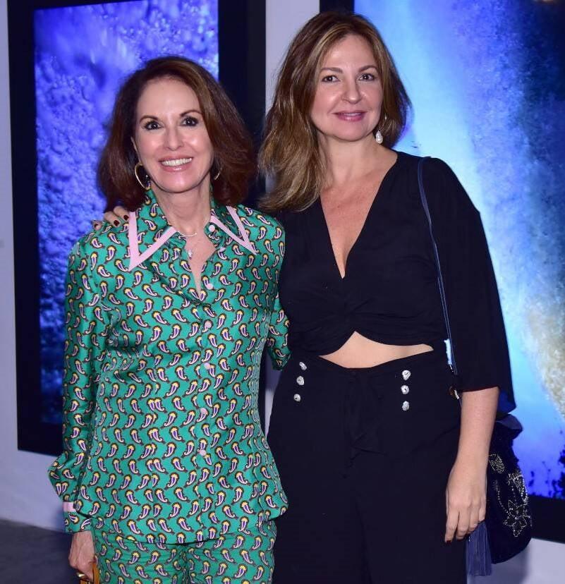 Regina Martelli e Eliza Conde  /Foto: Paulo Jabur
