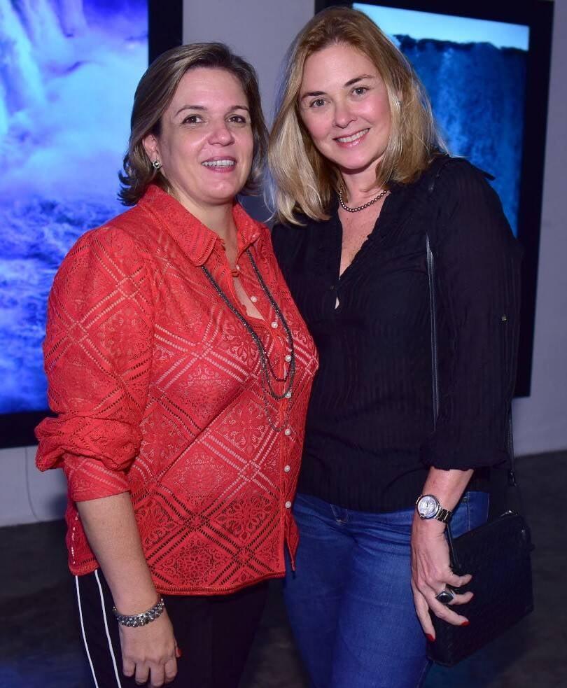 Luciana Caravello e Isabela Peixoto  /Foto: Paulo Jabur