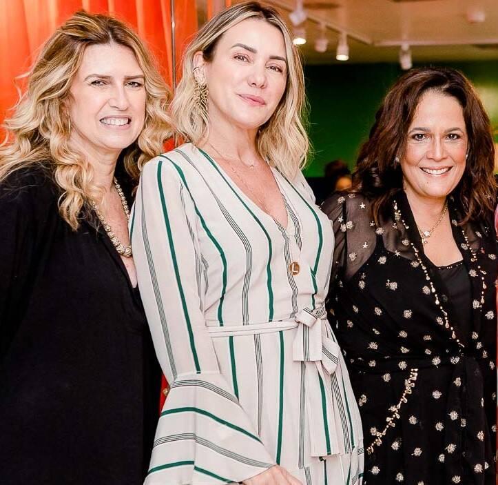 Crica Koeller, Lydia Dana e Marcia Kemp   /Foto: Bruno Ryfer