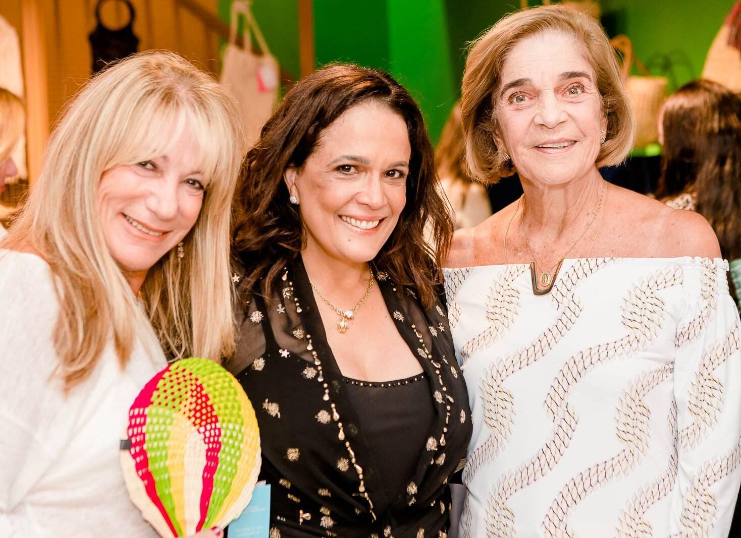Celina Cassab, Marcia Kemp e Isabel Magalhães /Foto: Bruno Ryfer