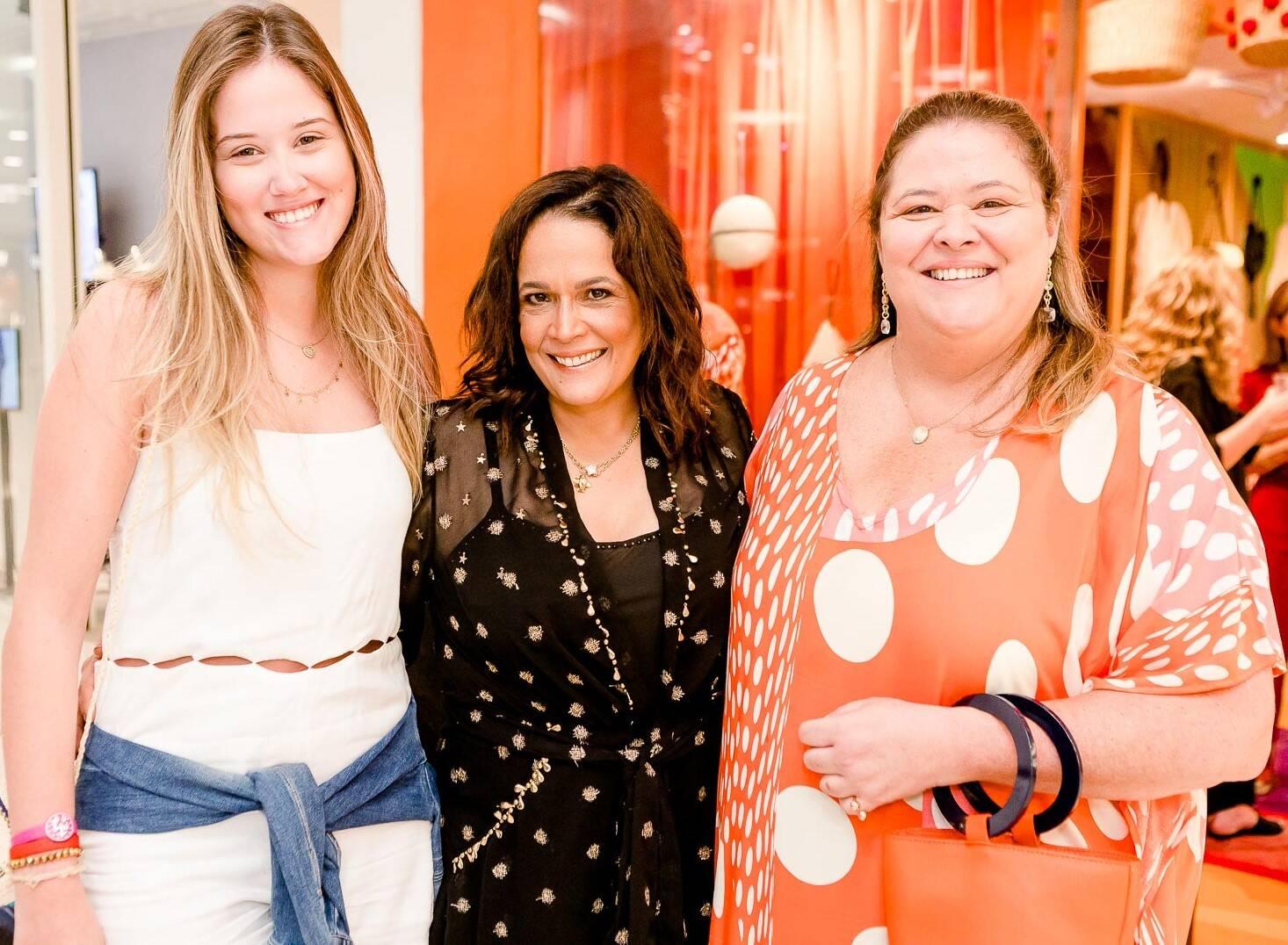 Duda Peres, Marcia Kemp e Suzana Portella  /Foto: Bruno Ryfer
