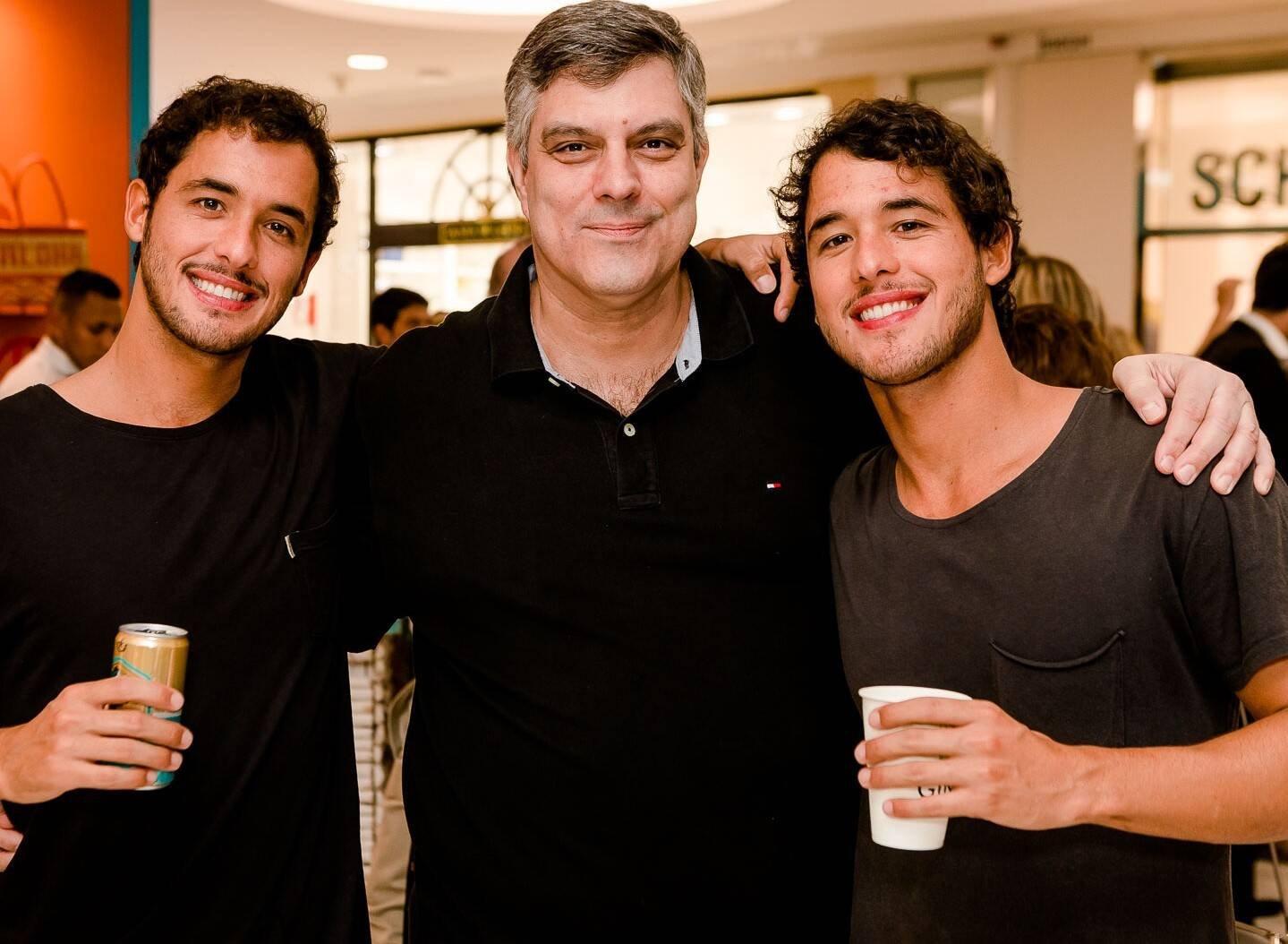 Gustavo Kemp, Fabio Cuiabano e Rafael Kemp  /Foto: Bruno Ryfer