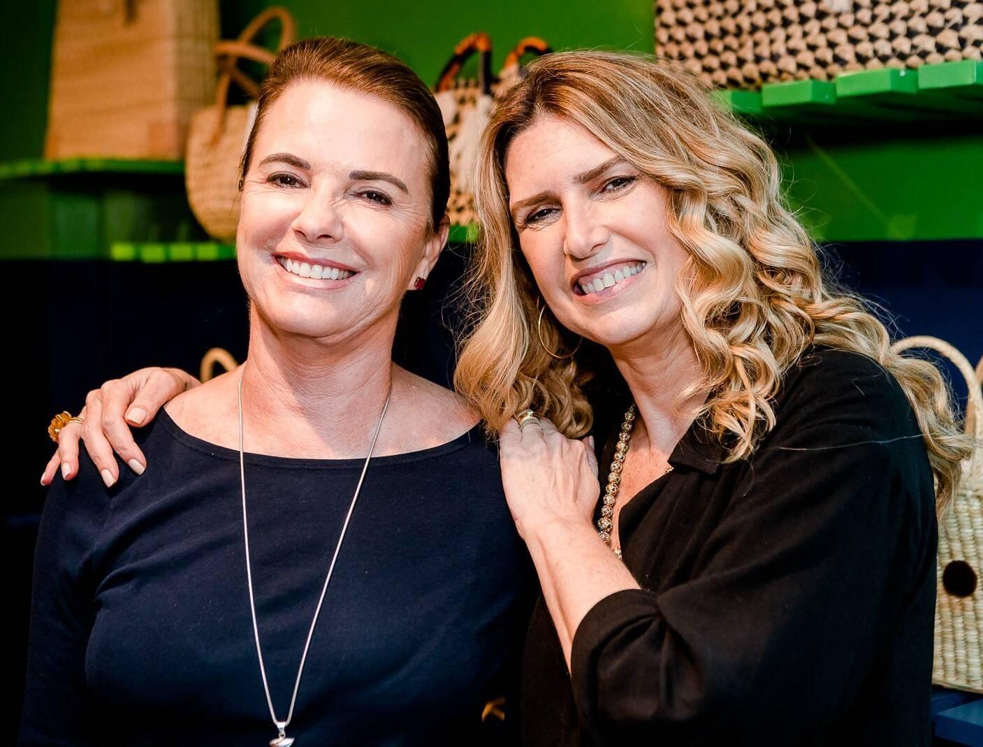 Laura Dias Leite e Crica Koeller  /Foto: Bruno Ryfer