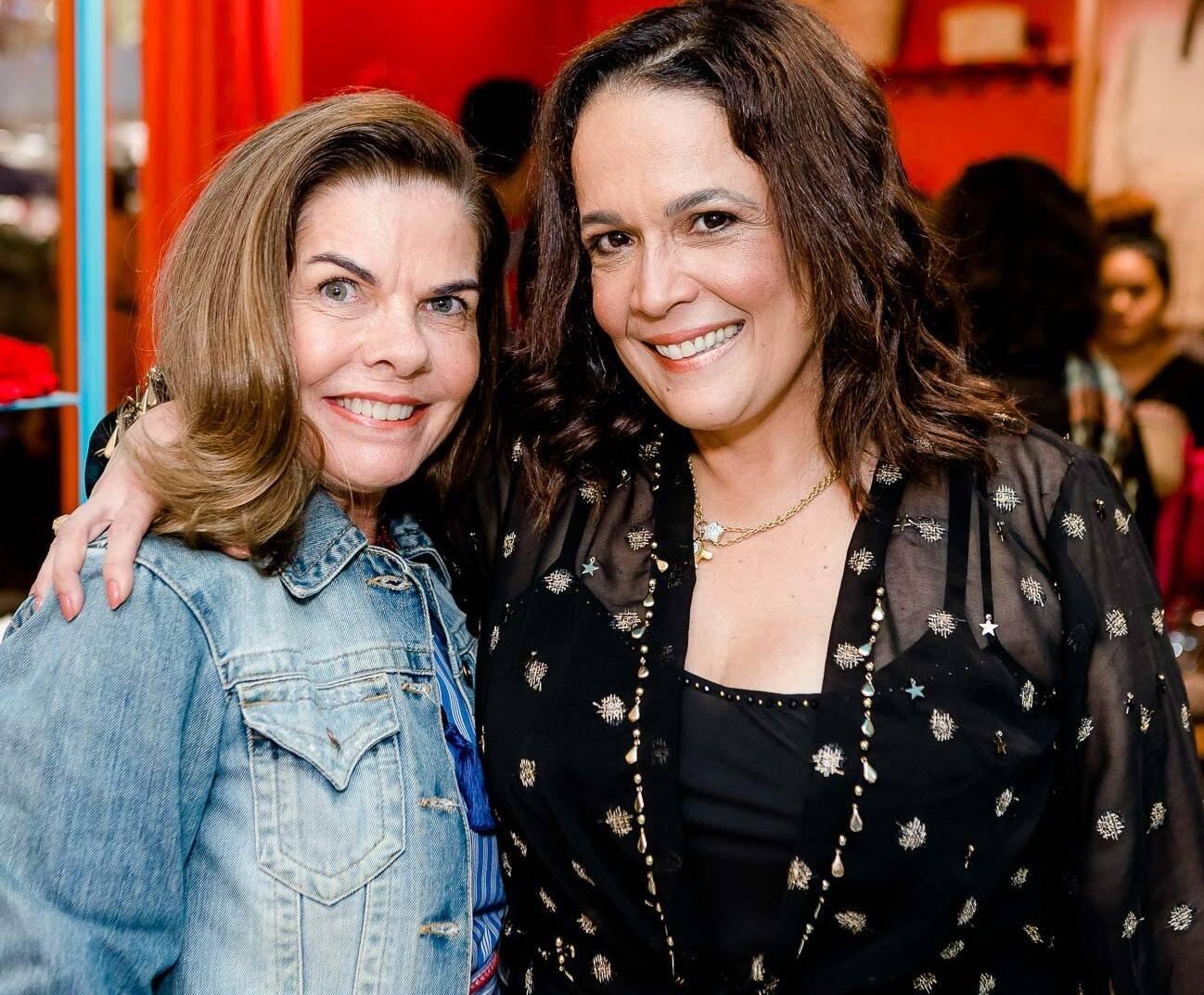 Angela Batalha e Marcia Kemp  /Foto: Bruno Ryfer