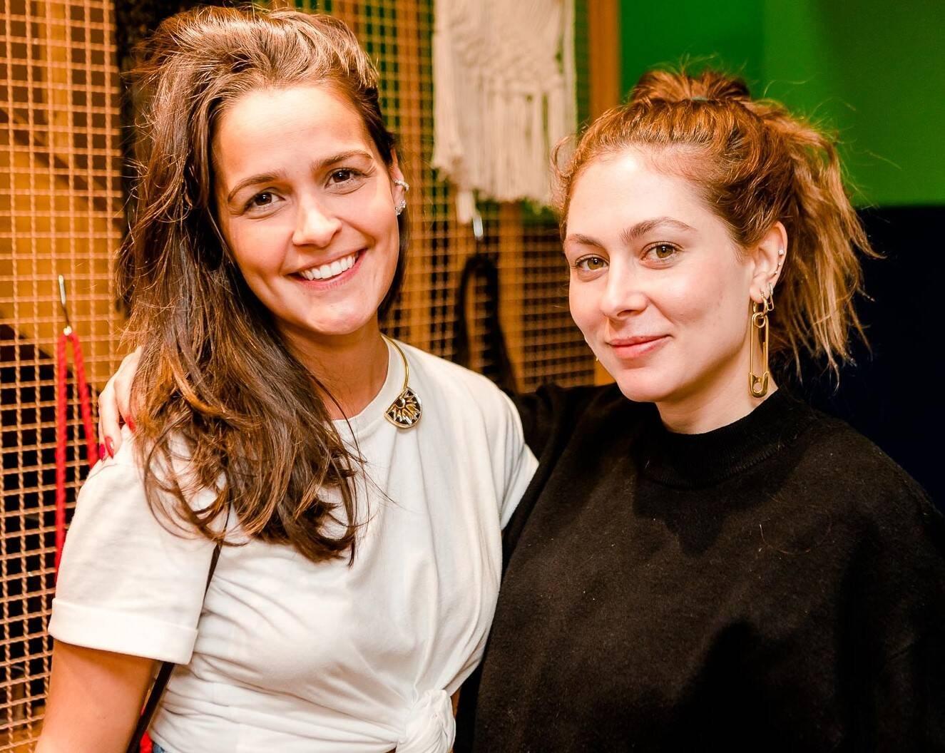 Maria Lunau e Roberta Blondie  /Foto: Bruno Ryfer