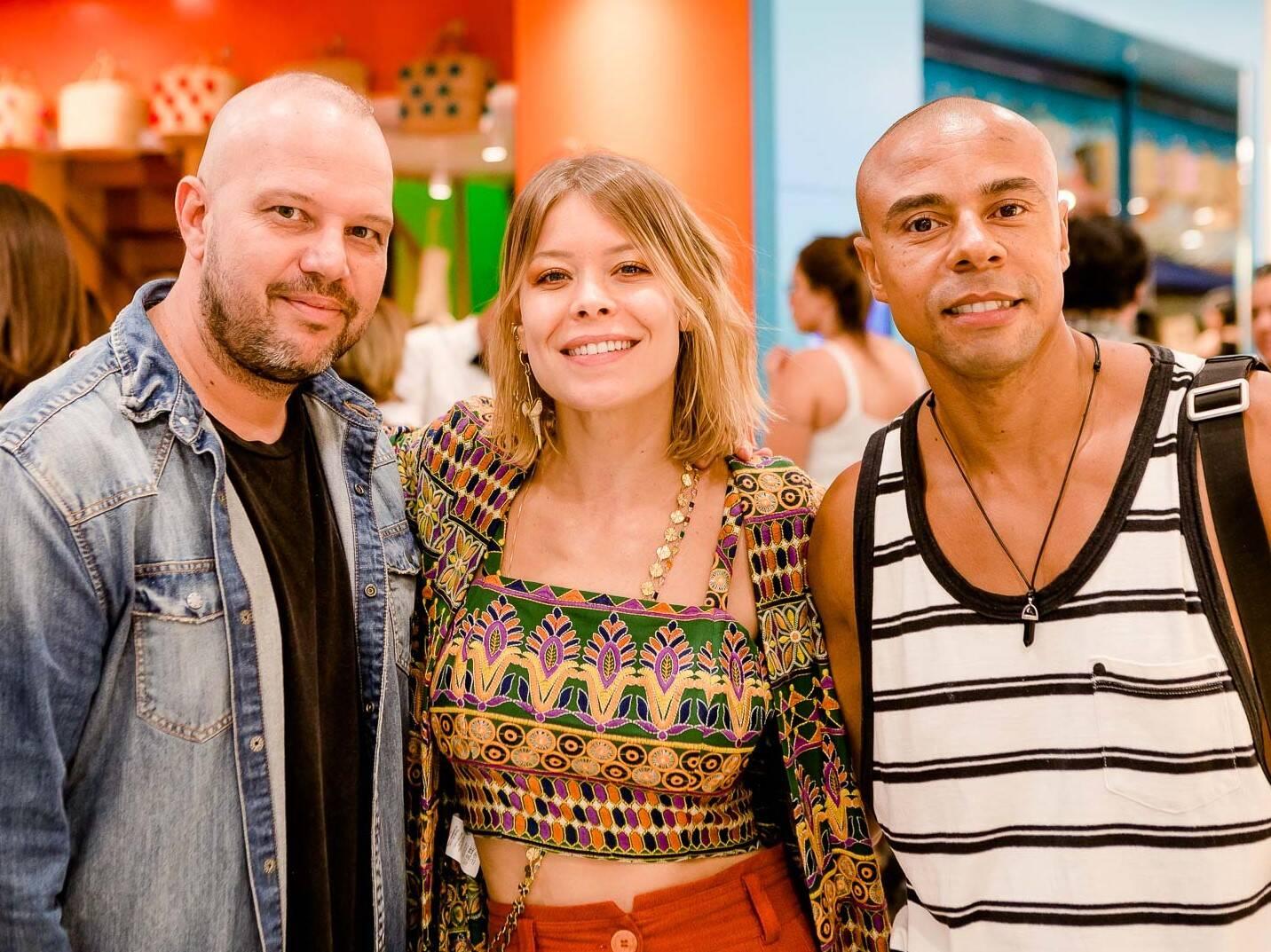 Cadinho Brautigam, Guta Vituoso  e Fabiano Moco /Foto: Bruno Ryfer