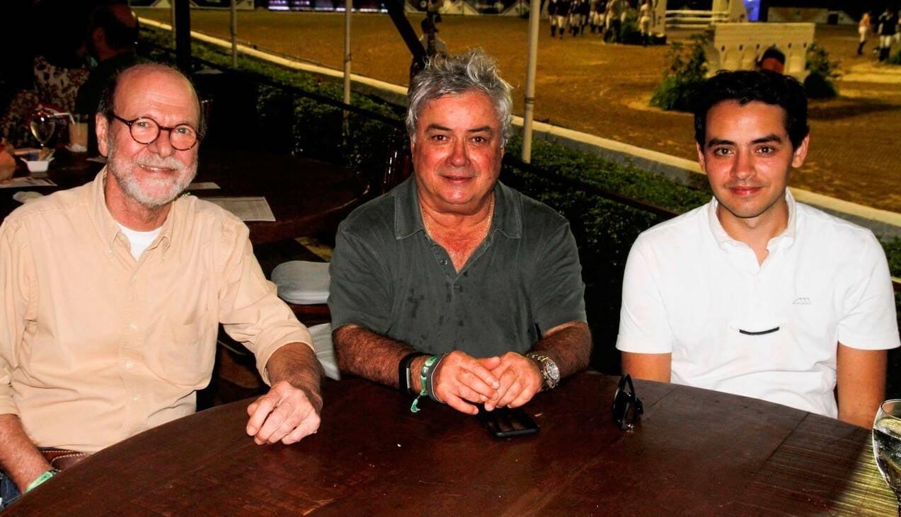 Chico Mascarenhas, Chiquinho Brandão e Thiago Mattos  /Foto: Emerson Emerim