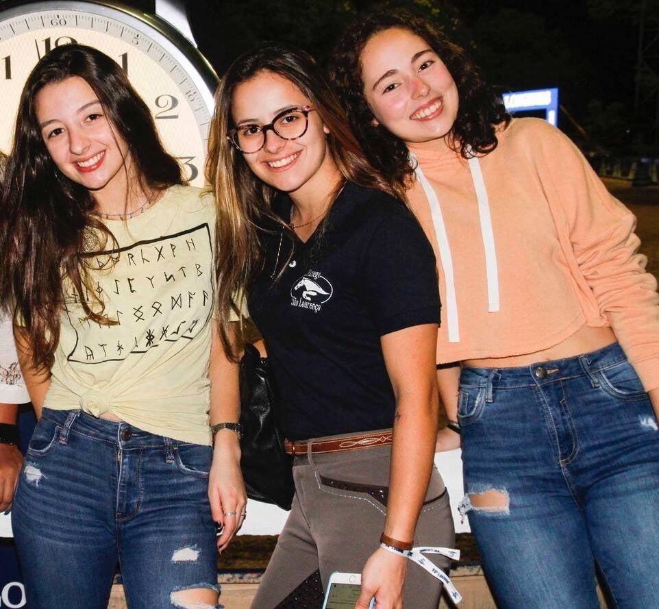 Giulia Franco, Maria Antonia Figueira de Mello e Andressa Lima /Foto: Emerson Emerim