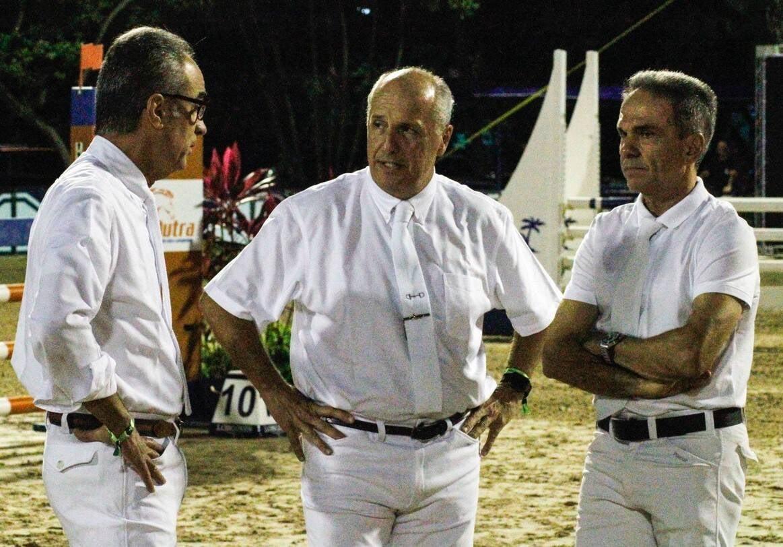 João Roberto Marinho, Luiz Carlos Nolasco e Juarez Andrade /Foto: Emerson Emerim
