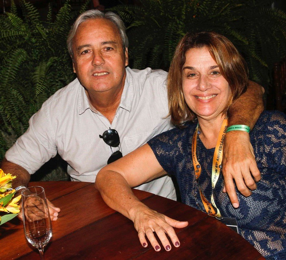 Marco e Marta Alho /Foto: Emerson Emerim.