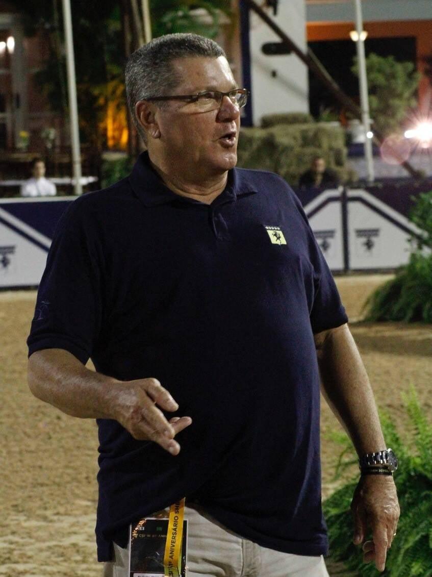 Vinicius da Motta, vice-presidente da Hípica /Foto: Emerson Emerim