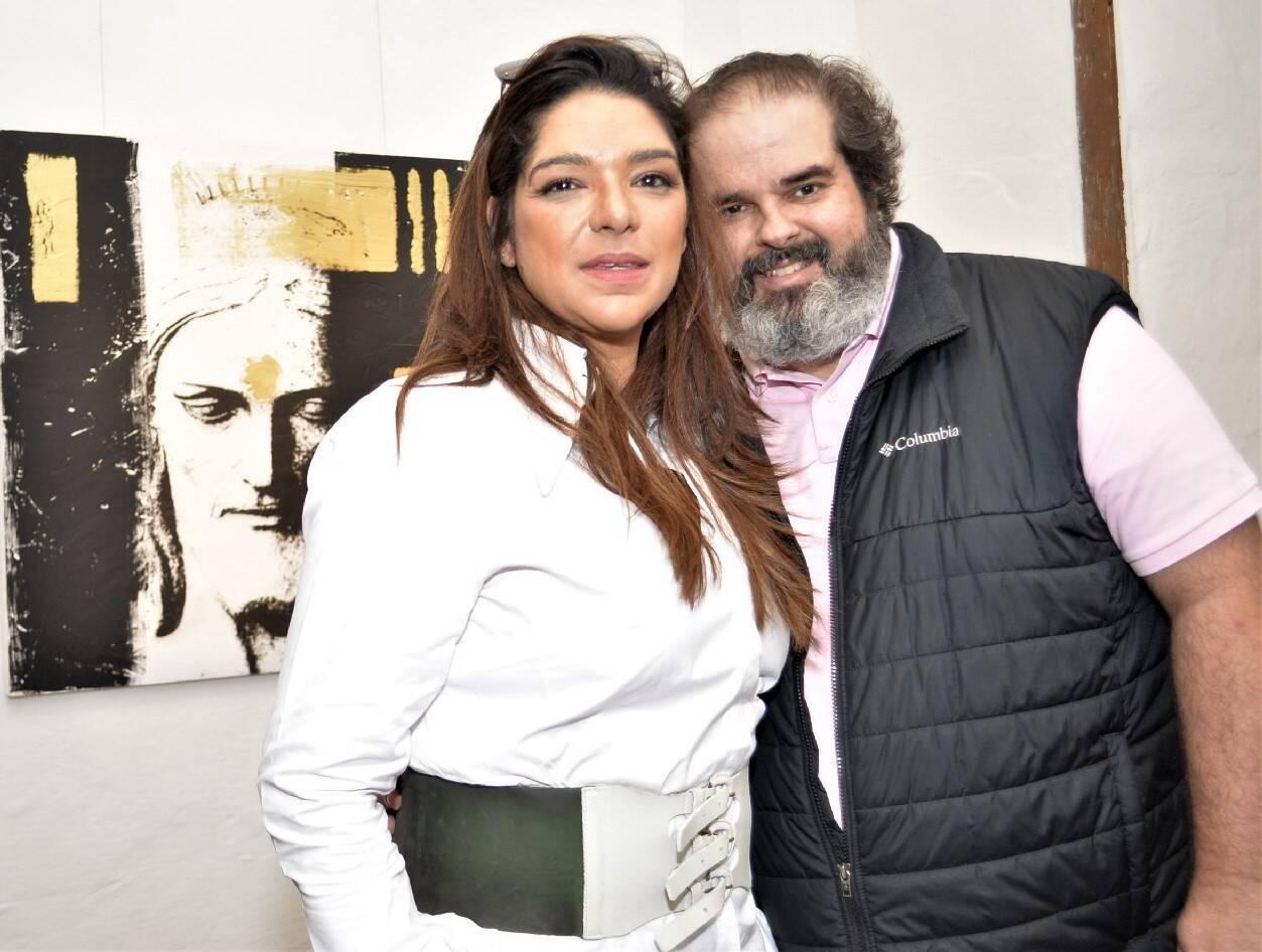 Fabiane Aleixo e Rodrigo Guarino /Foto: Sonia Balady