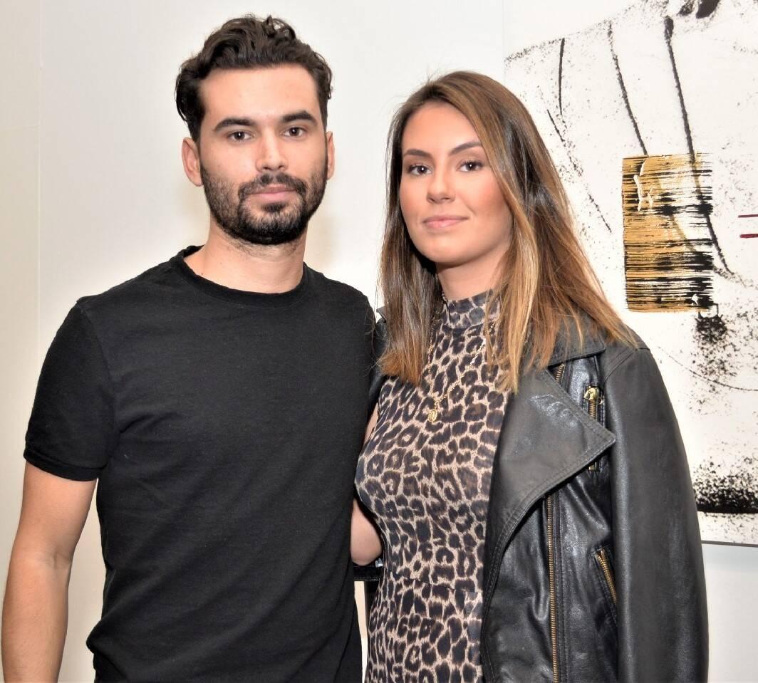 Lucas Rechian e Maria Eduarda Lima  /Foto: Sonia Balady