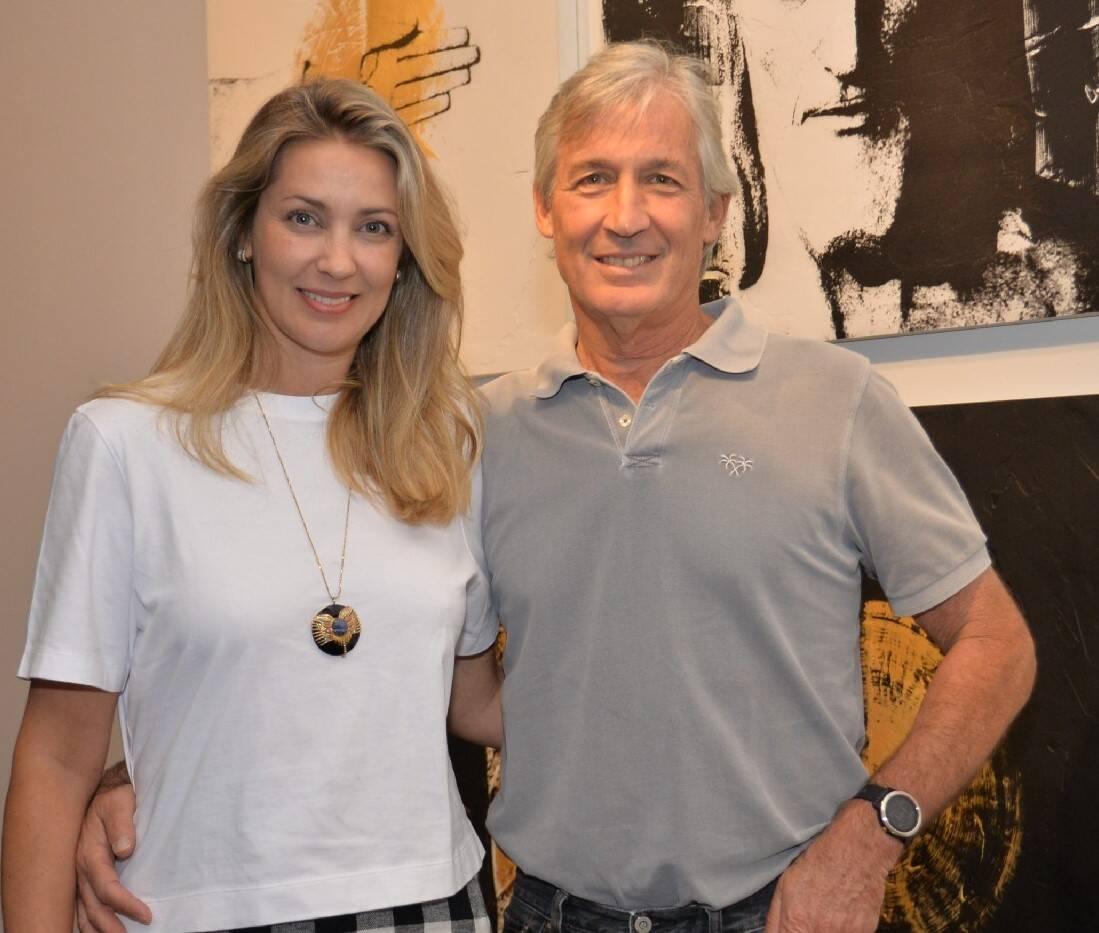 Ludmila Almeida Braga e João Joaquim de Almeida Braga /Foto: Sonia Balady