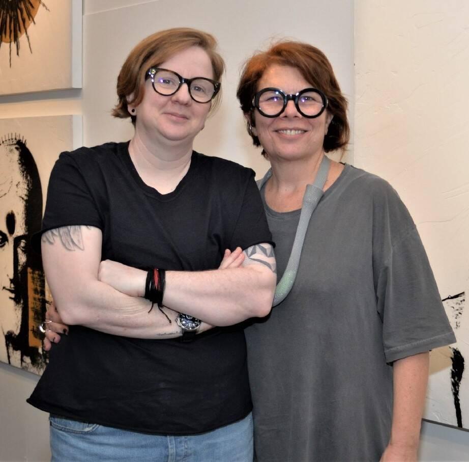 Mônica Paes e Julie Schlossman /Foto: Sonia Balady