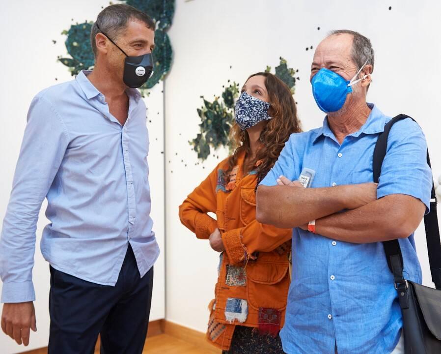 Leo Battistelli, Isabela Capeto e Guel Arraes /Foto: Selmy Yassuda