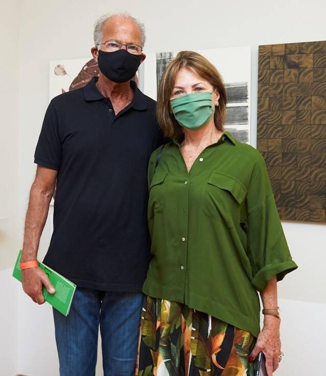 Leoncio e Anita Schwartz /Foto: Selmy Yassuda