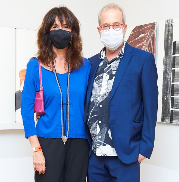 Leonel Kaz e France Perrin /Foto: Selmy Yassuda