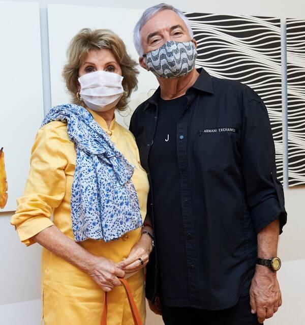 VeraTostes e José Newton Cunha /Foto: Selmy Yassuda