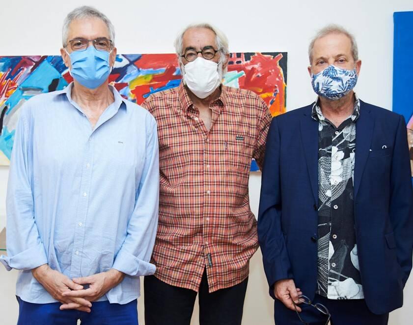 Lauro Cavalcanti, Roberto Magalhães e Leonel Kaz /Foto: Selmy Yassuda