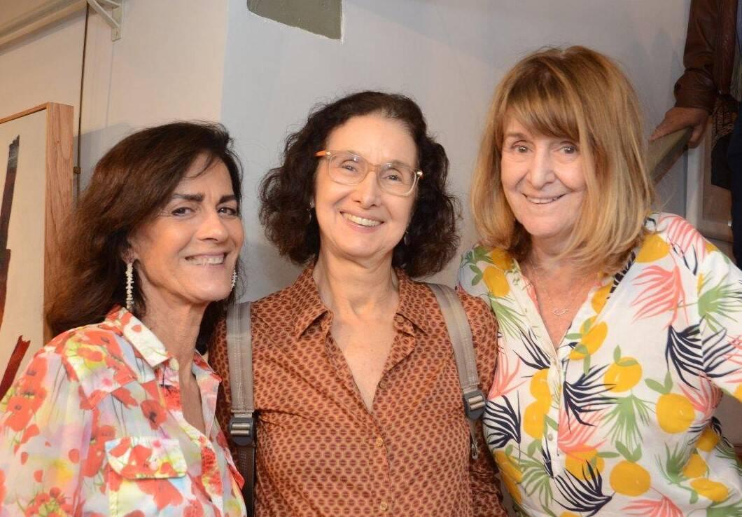 Ana Helena Barbará, Valéria Costa Pinto e Sandra Góes /Foto: Marco Rodrigues