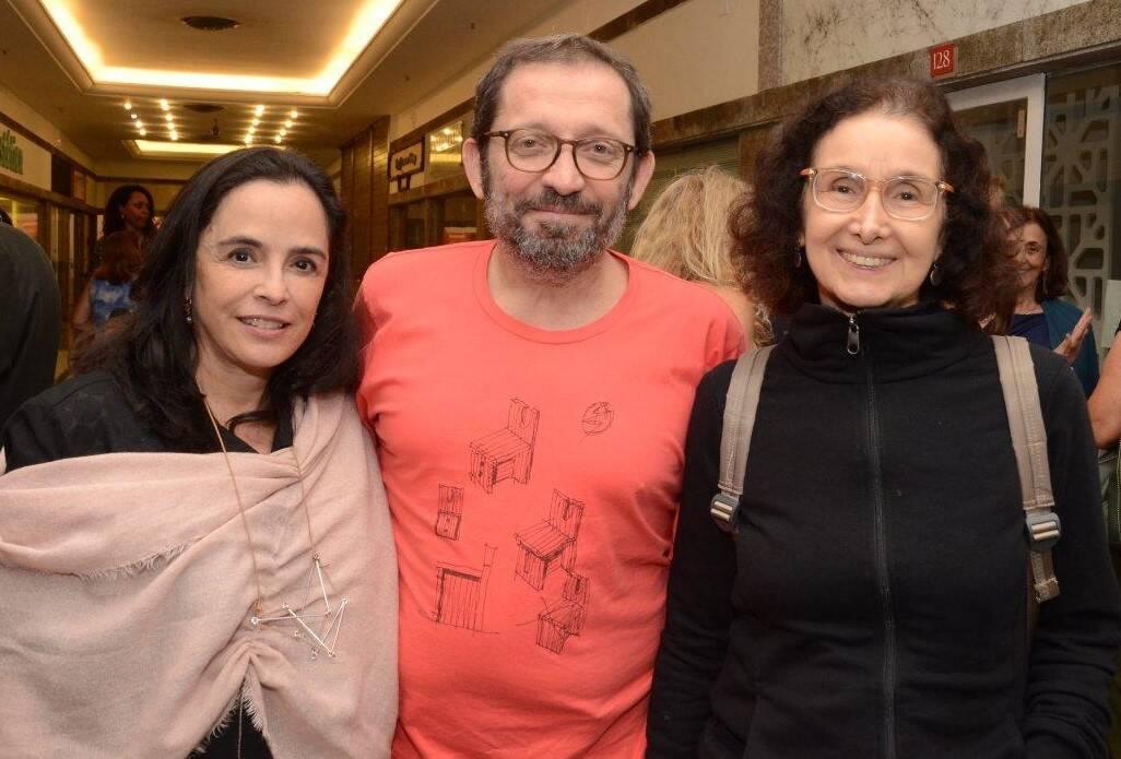 Andreia Brown, Maurício Novello e Valéria Costa Pinto /Foto: Marco Rodrigues